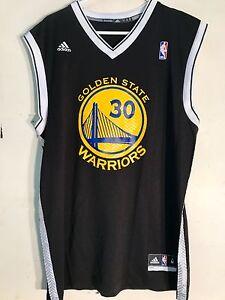 Adidas NBA Jersey Golden State Warriors Stephen Curry Black Alt sz 2X
