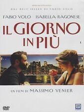 Dvd IL GIORNO IN PIU' - (2011) *** Fabio Volo ***........NUOVO