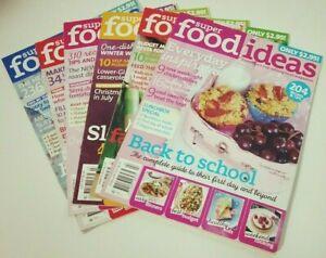 6 x SUPER FOOD IDEAS MAGAZINES - 2011