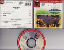 RAVEL Bolero MOUSSORGSKY Schilderijententoonstelling LORIN MAAZEL CD EMI HOLLAND