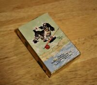 Vintage Remembrance Playing Cards, Sealed Albert Staehl Dog Cards w/ Tax Stamp
