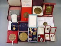 98547, Großes Konvolut von 20 Plaketten, Medaillen, Abzeichen, im Etui, POLEN
