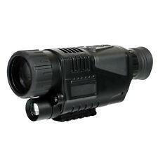 Digital Infrared Night Vision 5X42 Monocular Hunting Vid Telescope Scope Outdoor