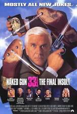 NAKED GUN 33 1/3: THE FINAL INSULT Movie POSTER 27x40 Leslie Nielsen Priscilla