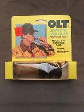 Vintage P.S. Olt B-10 Squirrel Call Nib