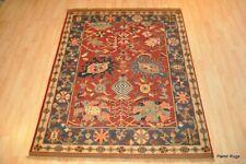 HANDMADE FINE QUALITY RUG 5' x 7' 100% wool Navajo design wool hand woven