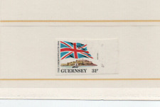 More details for guernsey, spectacular error,new  discovery missing queens head,imperf