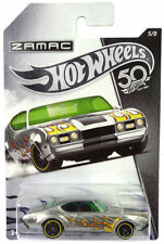 HOT WHEELS 50th ANNIVERSARY - ZAMAC '68 OLDS 442 - NEW LONG CARDED * UK STOCK *