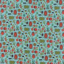Moda Fabric Dear Mum Bug Party Robins Egg - Per 1/4 Metre