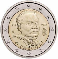 Italia  2€ 2012  Pascoli  FDC