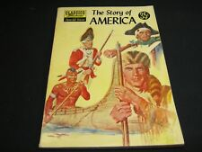 Special Issues (CL. ILL.) :#132A  THE STORY OF AMERICA  HRN 133  VGF June 1956