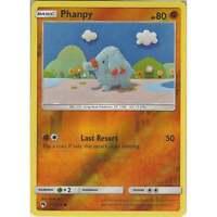 Pokemon TCG: Phanpy - 111/214 - Common Reverse Holo Card - SM8 Lost Thunder