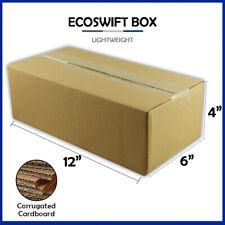 1 12x6x4 Ecoswift Brand Cardboard Box Packing Mailing Shipping Corrugated