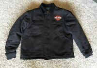 Tri-Mountain Men's Black Quilted Lining Winter Jacket VGC -See Description