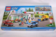 LEGO CITY 60132  SERVICE STATION (2 builds in 1 set) mint cond, new & sealed.*