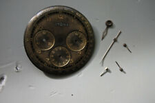 Vintage Lemania black radium Dial and Hands