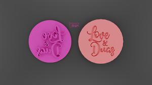 Islamic love & duas embosser,cookie stamp,Islamic stamp,Ramadan cookie stamp
