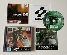 ISS Pro Evolution Soccer Sony Playstation ps1 komplett PAL Konami Black Label