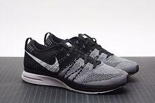 Nike Flyknit Trainer Black White 532984 010 Padded Size 10.5 DS Kanye Yeezy HTM