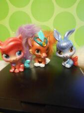 Disney Palace Pets Lot of 3, Blip Toys, Bunny, Tiger, Kitty, EUC