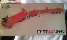 KIBRI 10446 autocarro M + rimorchio piano ribassato in kit 1/87