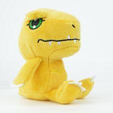 Digimon Collectible 3-Inch Plush Doll By Zag Toys - Agumon