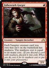 FALKENRATH GORGER Shadows over Innistrad MTG Red Creature — Vampire Berserker Ra