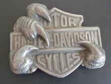 HARLEY DAVIDSON Motorcycles VINTAGE Eagle Claw 1991 Baron USA Belt Buckle H-407