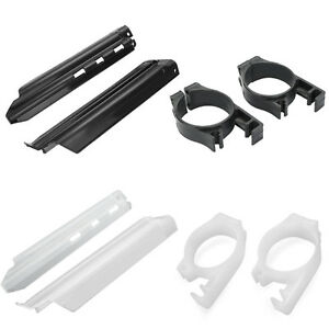 Front Fork Guides Fork Guards Cover Protector For Kawasaki KDX250/KDX200/KLX650