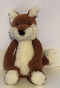 BNWOT Jellycat small fox soft toy teddy