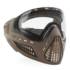 Virtue VIO Ascend Thermal Paintball Goggle / Mask - FDE Clear