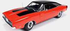 1969 Dodge Charger R/T Hemi-Orange 1:18 Auto World 1026