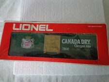 LIONEL O O/27 GAUGE CANADA DRY GINGER ALE 7802 WITH BOX