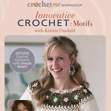 NEW DVD: INNOVATIVE CROCHET MOTIFS Learn Design Garments Charts Shapes