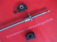 4 anti backlash ballscrews ball screws SFU1605-1800mm-C7+ bearing mounts BK/BF12