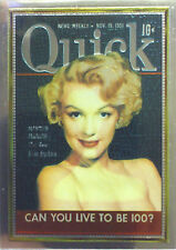Marilyn Monroe Series 1 Chromium Chase Card by Sportstime