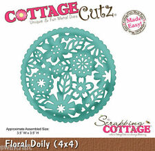 Cottage Cutz Corte Die incl. Liberación de Espuma Floral Tapete-CC4x4-383 * Reducido