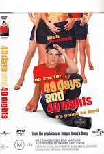 40 Days And 40 Nights-2002-Josh Hartnett-Movie-DVD