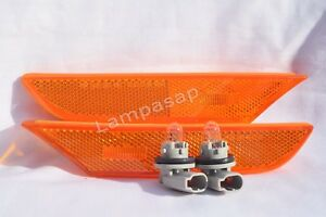 Front Side Turn Signal Park Marker Light lamps One Pair Fit 2003-2006 G35 Sedan