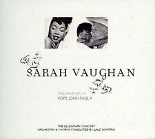 SARAH VAUGHAN - THE GOLD COLLECTION: SINGS THE POETRY OF POPE JOHN PAUL II NEW C