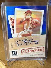 2021 Donruss Baseball Dylan Bundy AUTO /99 Classified Signature Angels