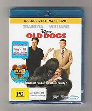 Old Dogs : Blu-ray + Dvd Disney 2-Disc Set Brand New & Sealed