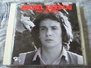 Michel Sardou Petit / Les Ricains Hard-to-Find Euro 2000 Barclay CD Reissue NM