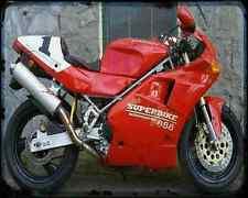 Ducati 888 Sp5 94 4 A4 Metal Sign Motorbike Vintage Aged