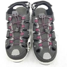 NEW Eddie Bauer Women's Blakely Black Bump Toe Sandals Size 10M