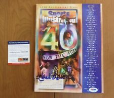 Hank Aaron Autographed Signed 1994 Sports Illustrated Magazine Braves PSA COA