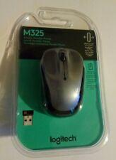 Logitech M325 Wireless Portable Mouse Silver