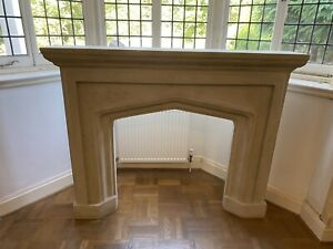 Victorian Style Stone Effect Fireplace Surround - Brand New - Immaculate