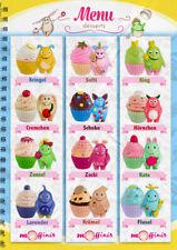 Blue Ocean Moffinis Sammelfiguren komplett Set alle 12 Figuren Moffini Muffin