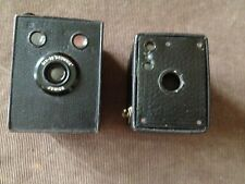 2x antique box cameras  KODAK